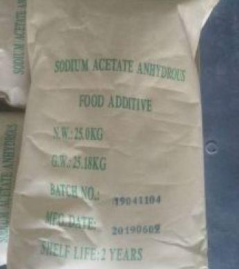 سدیم استات (Sodium acetate)
