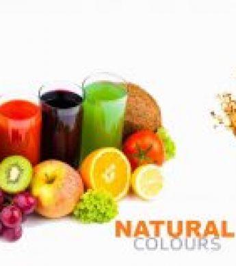 رنگ های غذایی طبیعی