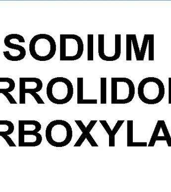 سدیم پیرولیدون کربوکسیلات