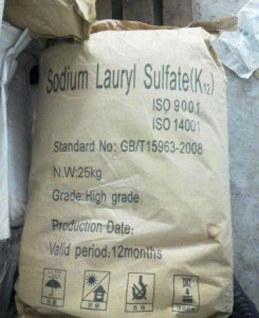 سدیم لوریل سولفات Sodium Lauryl Sulfate