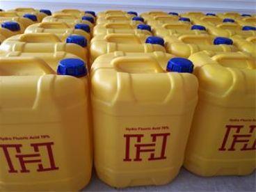 اسید هیدروفلوریک (HF)